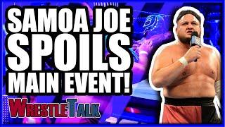 Randy Orton RETURNS! Samoa Joe SPOILS Main Event! | WWE Smackdown Live Jan. 22 2019 Review