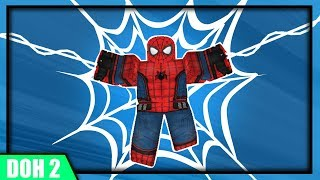 Spider-Man Web Swinging in ROBLOX! - Dawn Of Heroes 2