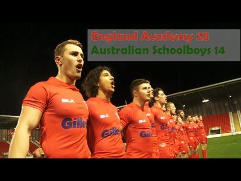 England TV: Academy defeat Australia