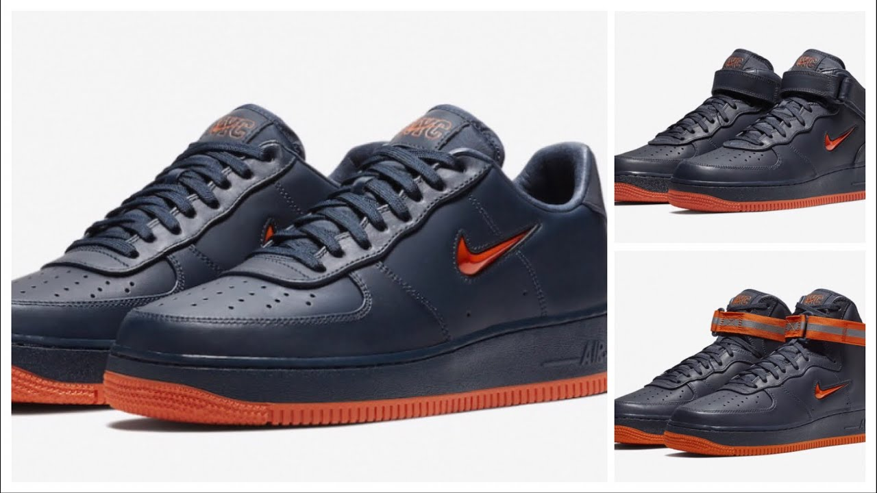 NIKE AIR FORCE 1 HIGH NYC FINEST, NIKE AIR FORCE 1 MID NYC FINEST AND MORE  !!