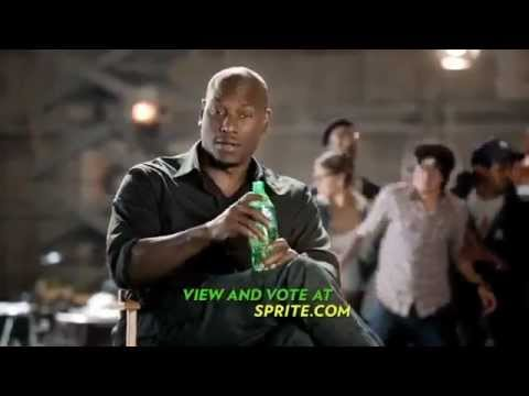 Sprite Commercial August 2012 with Tyrese Gibson *Sprite Films*
