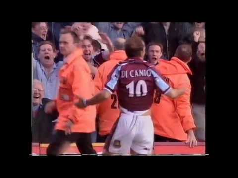 West Ham 2-1 Arsenal 3rd October 1999