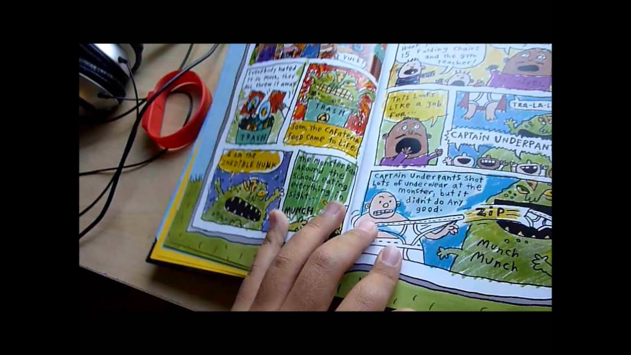 Captain Underpants With Full Colors Books and Tippy Tinkletrousers ...