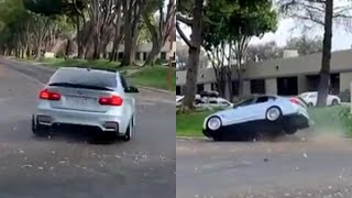 How to not drive a BMW M3