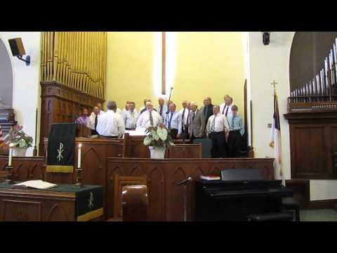 "Nebraska City Apple Corps Barbershop Chorus sings ""The Lord"