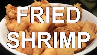 how to cook fried shrimp w batter no breadcrumbs yummy