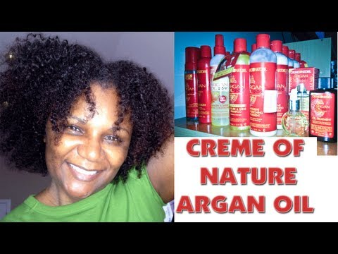 Creme of Nature Argan Oil Line Product Review