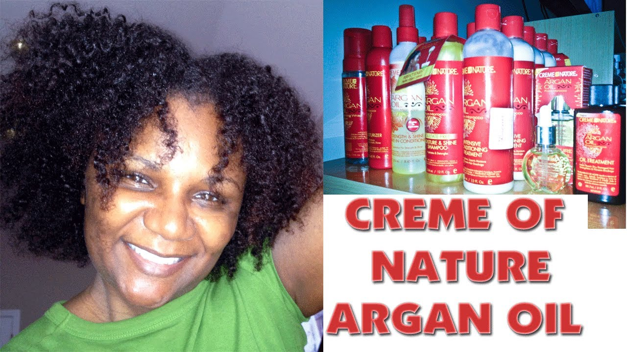 Argan Oil Creme Of Nature Line