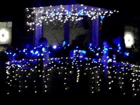 Weihnachtsbeleuchtung Für Balkongeländer.Weihnachtsbeleuchtung