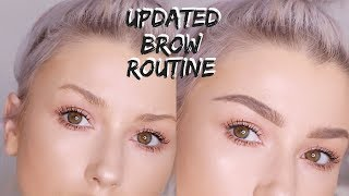 UPDATED BROW ROUTINE | lolaliner