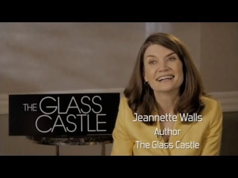 THE GLASS CASTLE interview with noted author Jeannette Walls