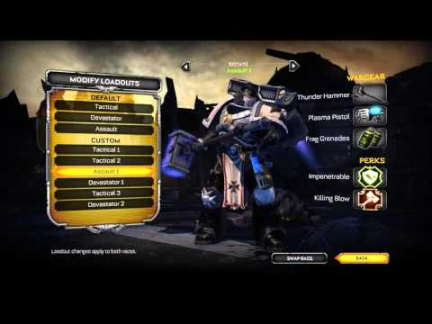 """Space Marine - """"Kicked in the Face"""" - Exterminatus Mode 