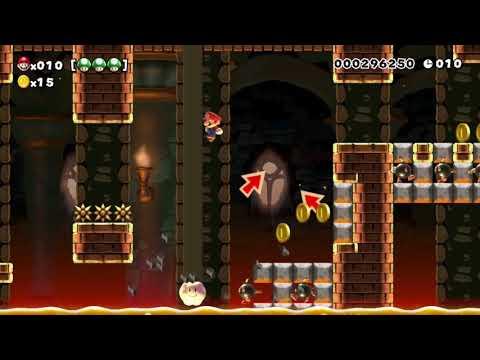 (:)Quickly Dash Castle(:) - Beating Super Mario Maker's SUPER EXPERT Levels!