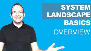 SAP System Landscape Basics for SAP Beginners [WHITEBOARD SESSION]