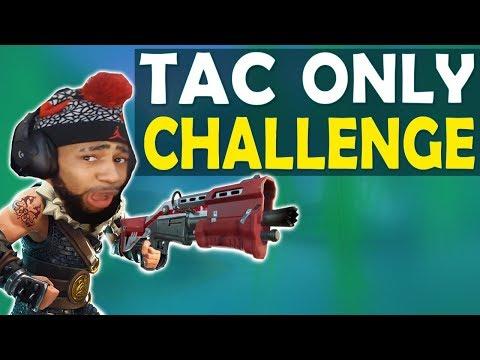TACTICAL SHOTGUN ONLY CHALLENGE | DAEQUAN GOT BARS | HIGH KILL FUNNY GAME - (Fortnite Battle Royale)