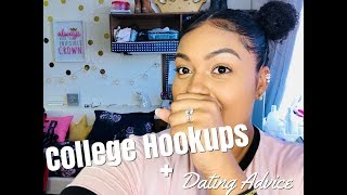 COLLEGE HOOKUPS and DATING ADVICE