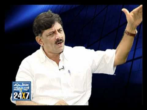 Seg_ 2 - Target With D. K. Shivakumar  - 26 May 12 - Suvarna News