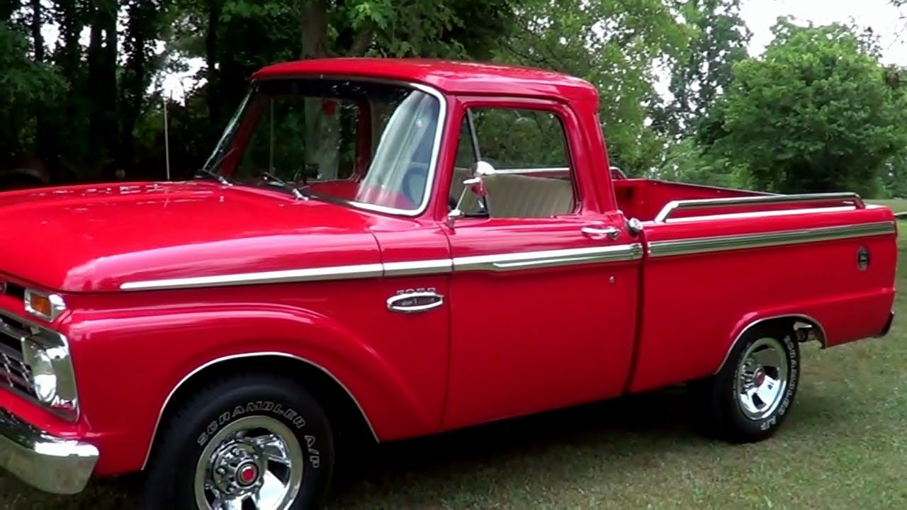 1966 Ford F 100 Youtube