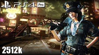 Resident Evil 6 PS4 Pro NO MERCY 2512k Urban Chaos Helena RPD 60fps