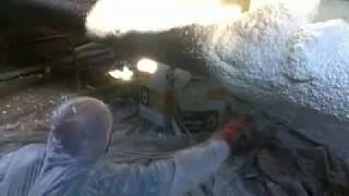 Foam Kit утепление труб в тепловой камере(Работы выполнялись в Санкт-Петербурге 1.11.2010., 2010-12-09T13:04:23.000Z)