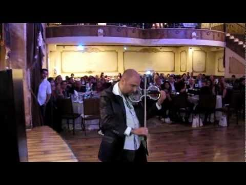 Violinist Alen plays at The World Networks The Armenian Business Awards