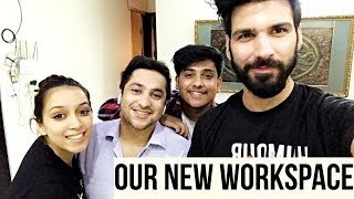 Our New Workspace | Mohit Chhikara Vlogs
