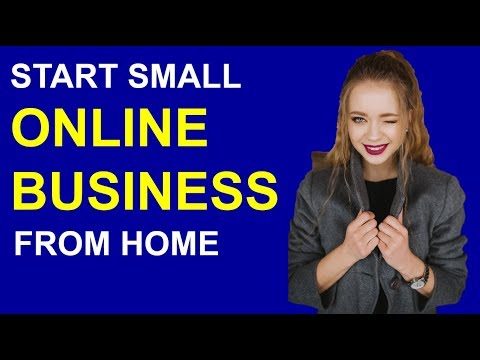 How To Start a Small Online Business From Home With No Money Tutorial thumbnail