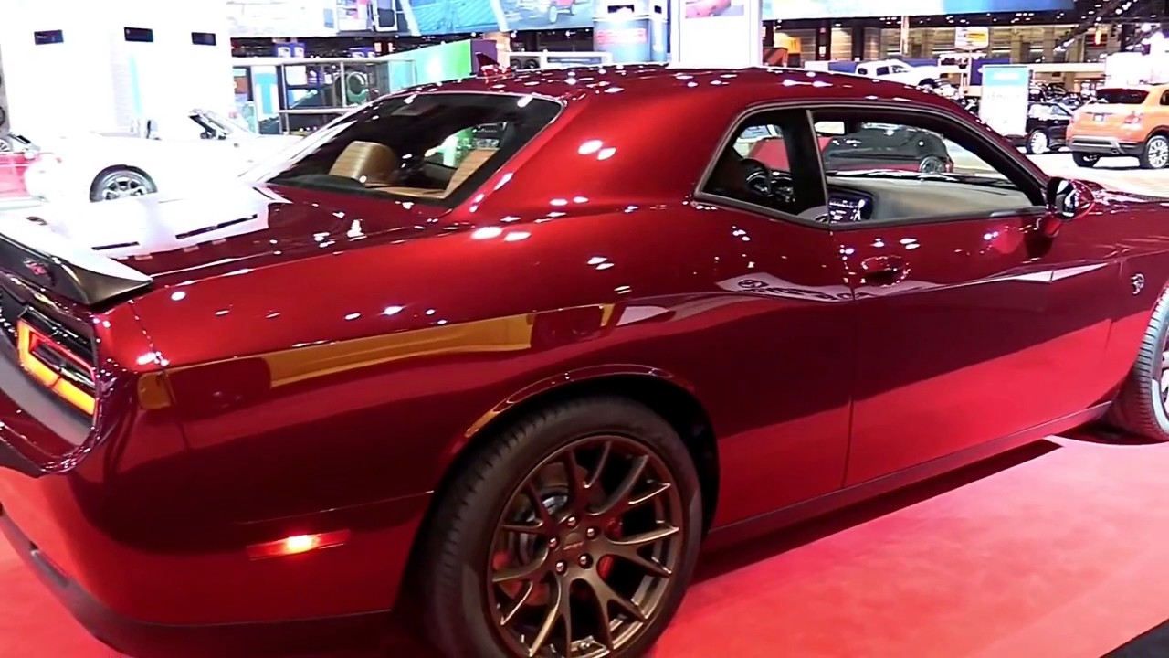 2017 Dodge Challenger Srt Hellcat Limited Red Luxury Features Exterior And Interior First