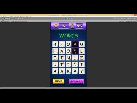 Words Blitz basic gameplay