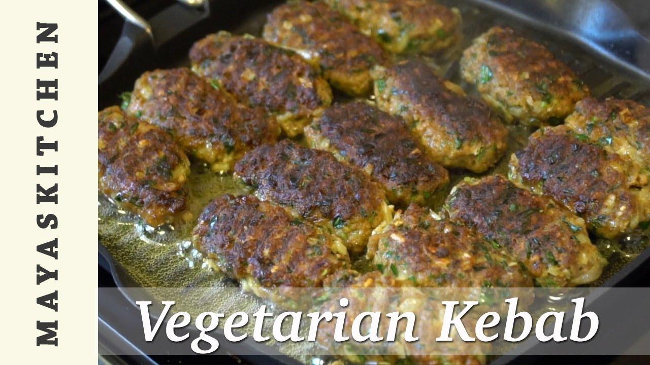 Maya's Kitchen // Veggie Kebabs - YouTube