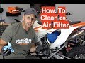 How to Clean/Oil/Replace an Air Filter - For Beginners and Vets Too | Episode 288