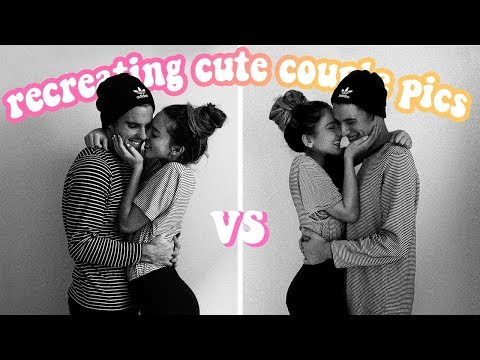 We Tried Recreating Cute Af Couple Photos...
