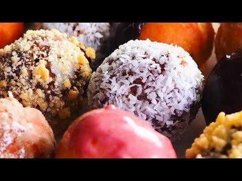 簡単ひとくちポップドーナツ/Bite size desserts POP Donut