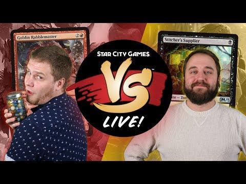 VS Live! | Mono-Red Aggro VS Sultai Dredge | Pioneer | Match 1