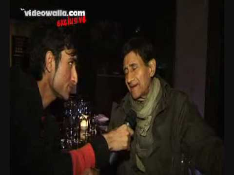Dev Anand's Exlusive  Interview in london At 85th Birthday london with Salman Malik