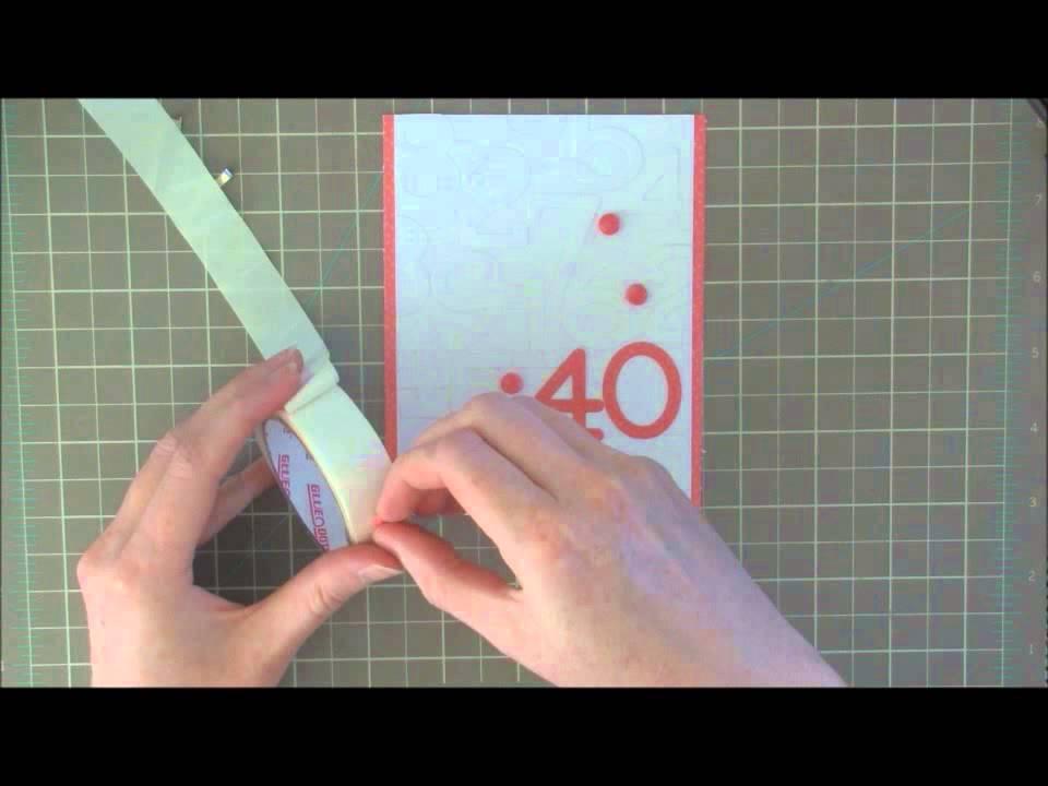 text till 40 års kort Kort: 40 års fødselsdag   YouTube text till 40 års kort