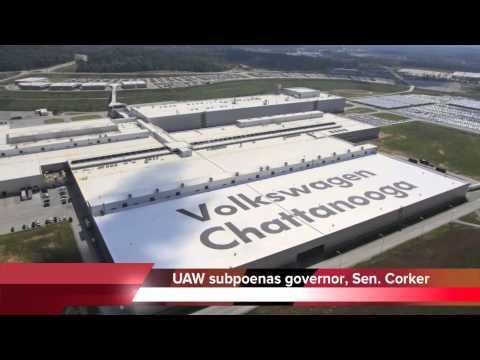 UAW subpoenas Bill Haslam, Bob Corker over VW union vote