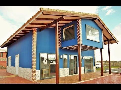 Casas prefabricadas de acero y hormigon modelo pilar c - Casas de acero prefabricadas ...