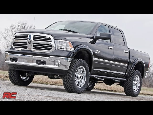 2009-2016 Ram 1500 Wheel To Wheel Nerf Steps by Rough Country
