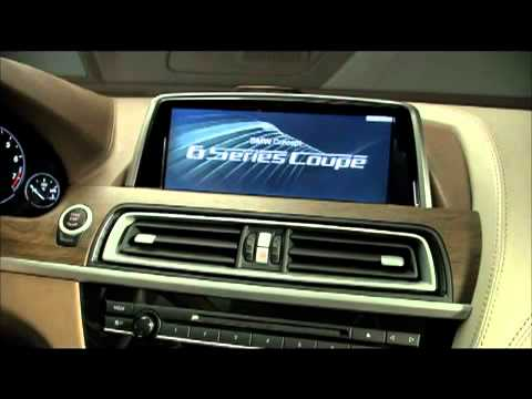 2010 BMW 6-Series Coupe Concept Interior Video - YouTube