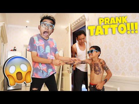 PRANK FULL TATTO!!! FROST DIAMOND, PAPA GA PERNAH SEMARAH INI!!!
