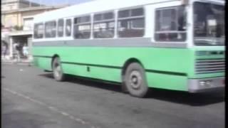 Maltese AEC Swift buses in the green era (1994).