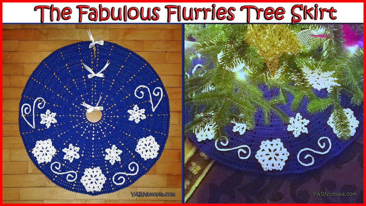 Free Crochet Tree Skirt Pattern Awesome Ideas