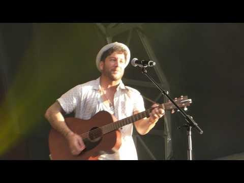 Amazing  Matt Cardle – Jimmy's Festival – 23 July 2017