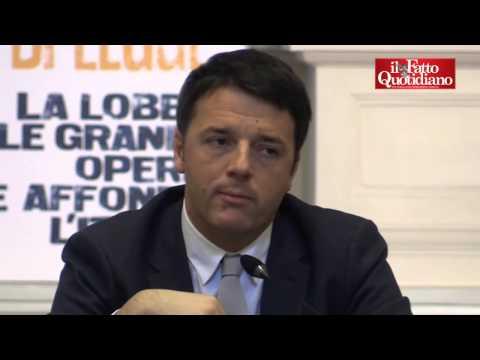 """Dimissioni Napolitano, Renzi: """"Ora serve grande arbitro"""". Ma """"boccia"""" Cantone"""