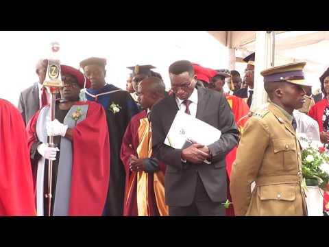 Zimbabwe Open University 2016 Graduation Procession