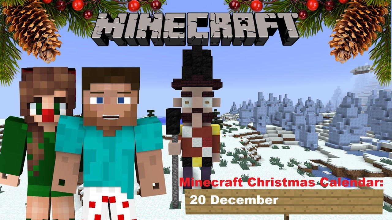 Christmas Calendar Minecraft Download : Minecraft christmas calendar december youtube