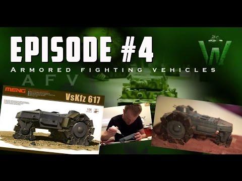 Tutorial: Meng Model Vs.Kfz. 617 German Mineroller by Carlos Costa | Warfare in Scale
