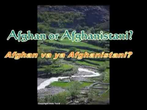 A citizen of Afghanistan is Afghanistani not Afghan