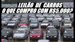 Com R$5.000 Consigo Comprar um Carro em Leilão ?